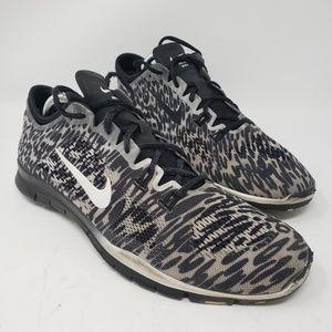 Men's Nike Free black running shoes size 10